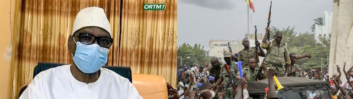 මාලි රාජ්ය - Malian President Ibrahim Boubacar Keita