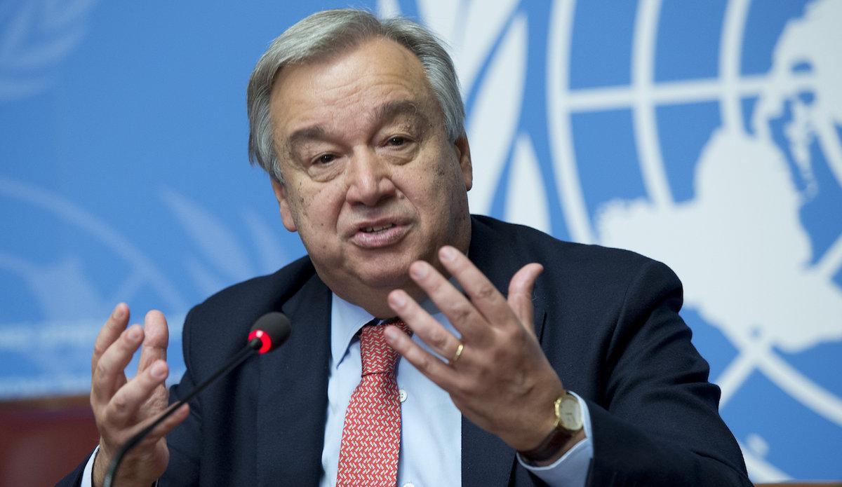 එක්සත් ජාතීන්ගේ මහලේකම් ඇන්ටෝනියෝ ගුටරෙස් - Antonio Guterres